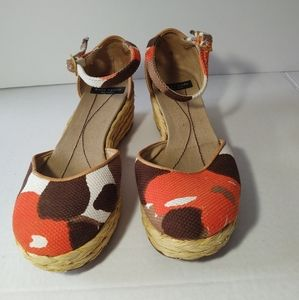 Kate Spade New York Wrapped Wedge Sandals Ankle St